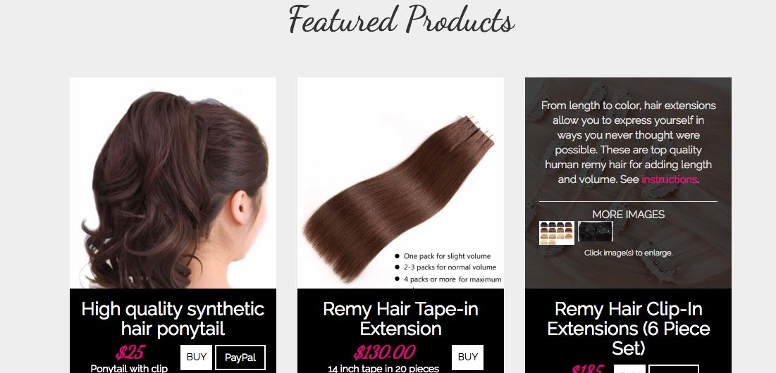 Gigiliscious Hair Extensions